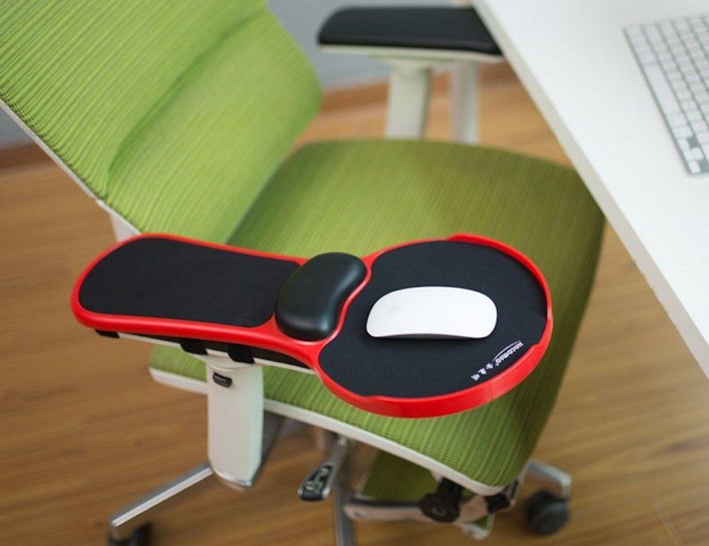 acheter nouveau top ergonomique memoire mousse accoudoir tapis de souris rotatif reglable ordinateur bureau chaise extender accoudoir repose poignet pour