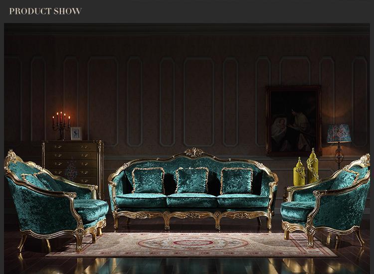 2019 Italian Classic Living Room Furniture Luxury Classic