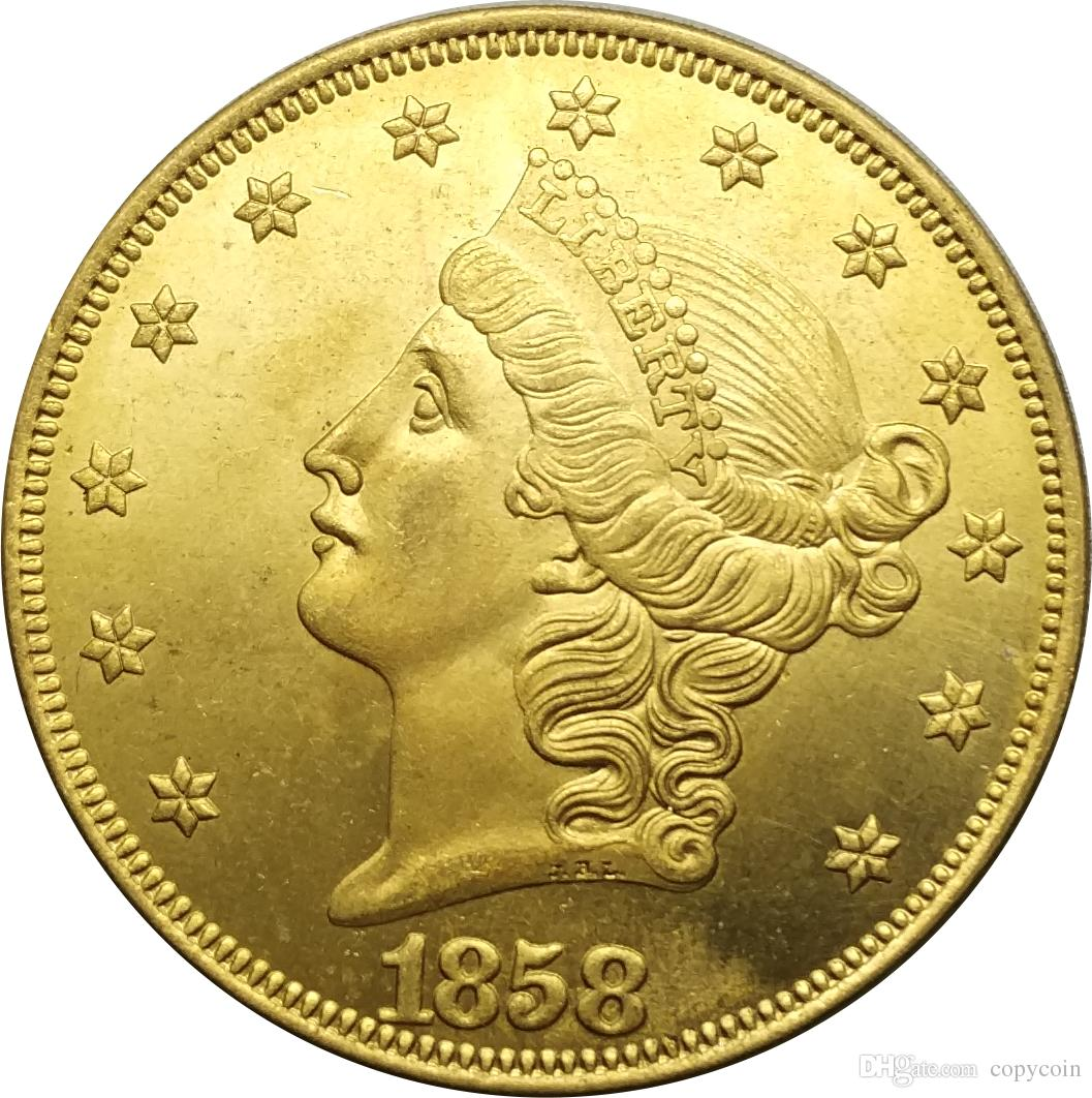 United States Coins Liberty Head Brass Gold Copy