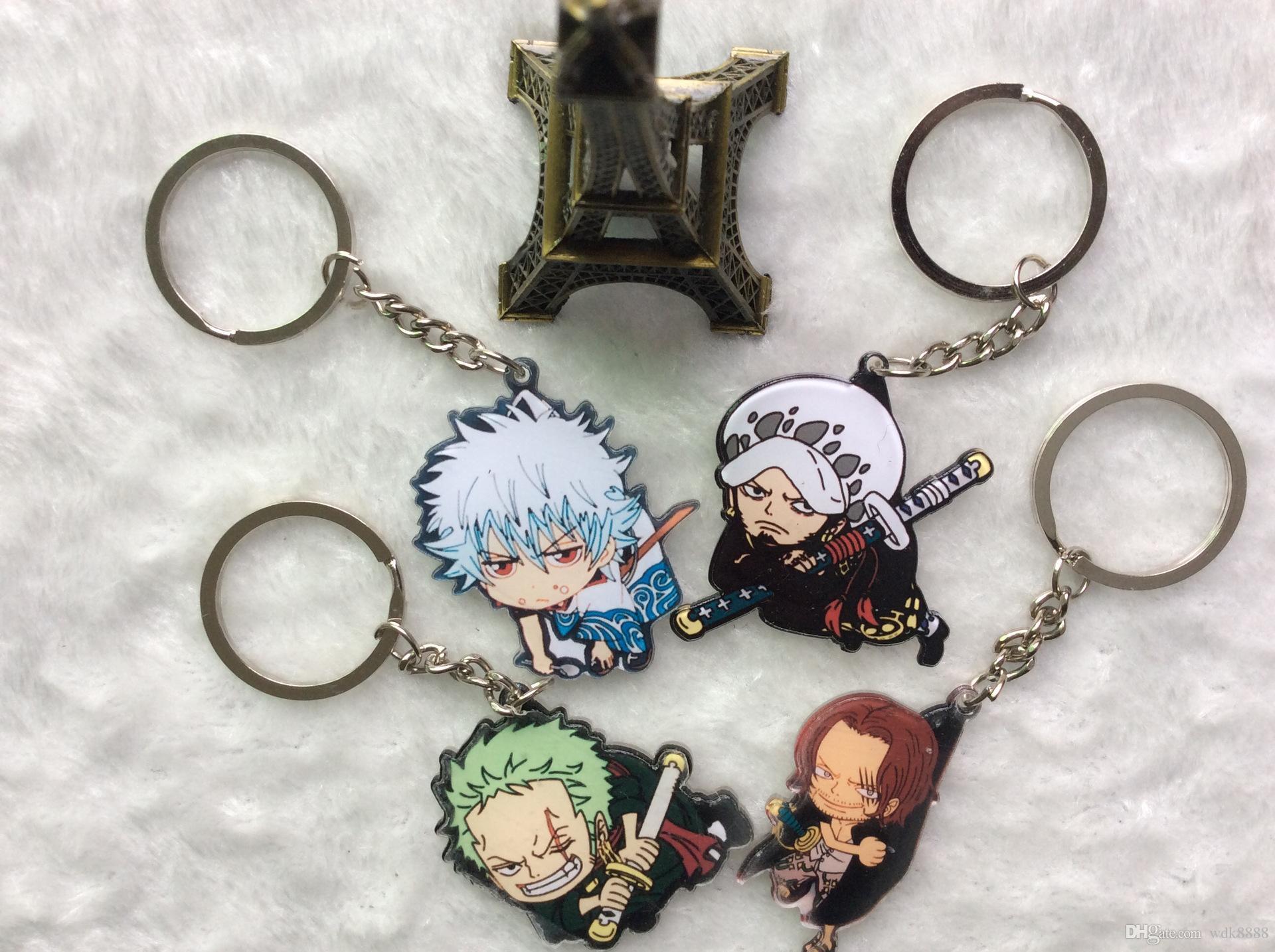 Acrylic Key Chain Custom Acrylic Anime Keychains Silver