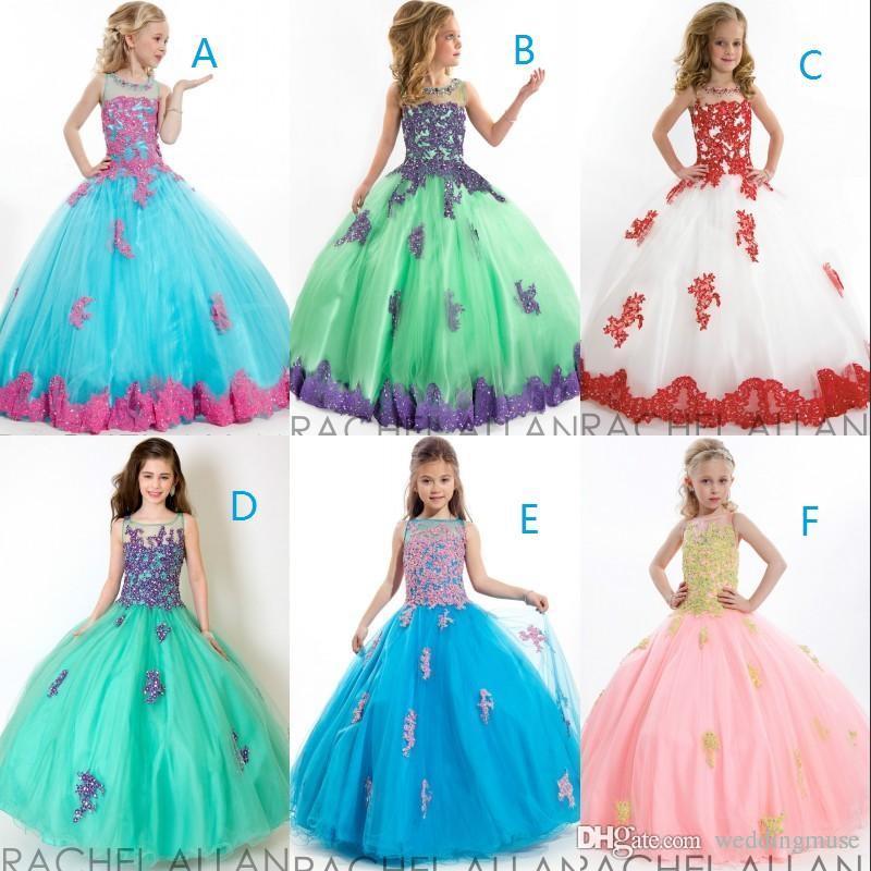 8afc0e9501 Compre Moda 2019 Vestidos Para Niñas De Gala Cuentas
