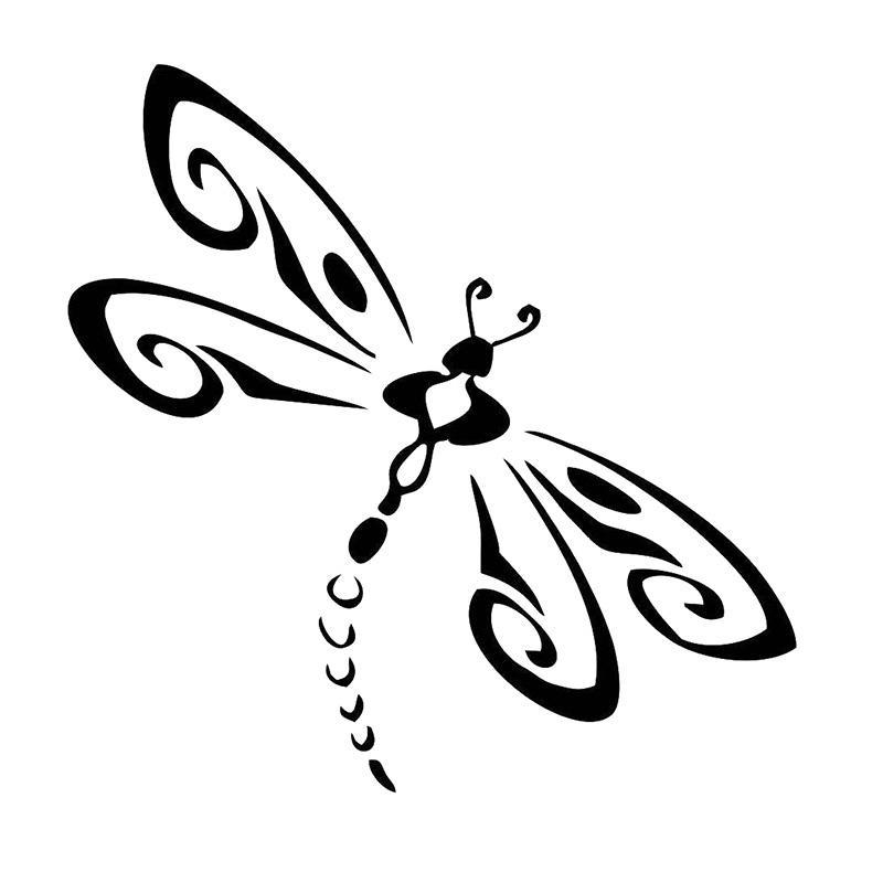 Download Dragonfly - Die Cut Vinyl Window Decal/Sticker for Car ...