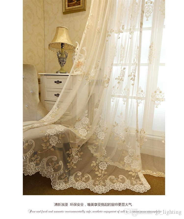 10 Elegant Sheer Curtains With Embroidery Kinjenk House Design
