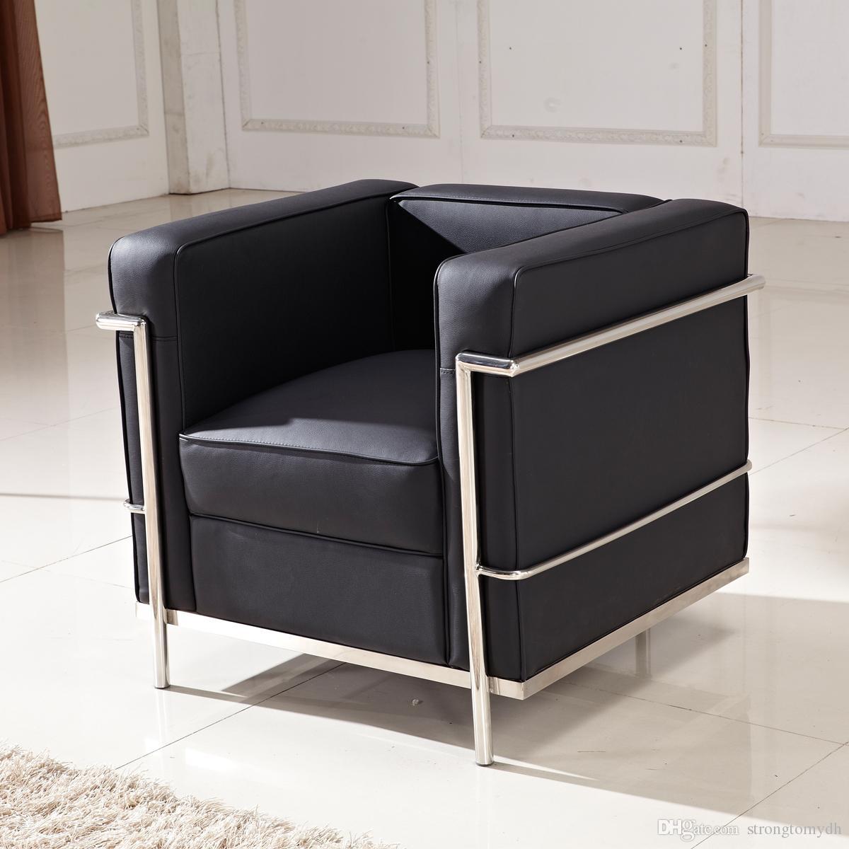 acheter le corbusier lc2 petit canape confort cuir meubles de salon salle de conference canape lit canape lit audiovisuel canape lit de 209 05 du