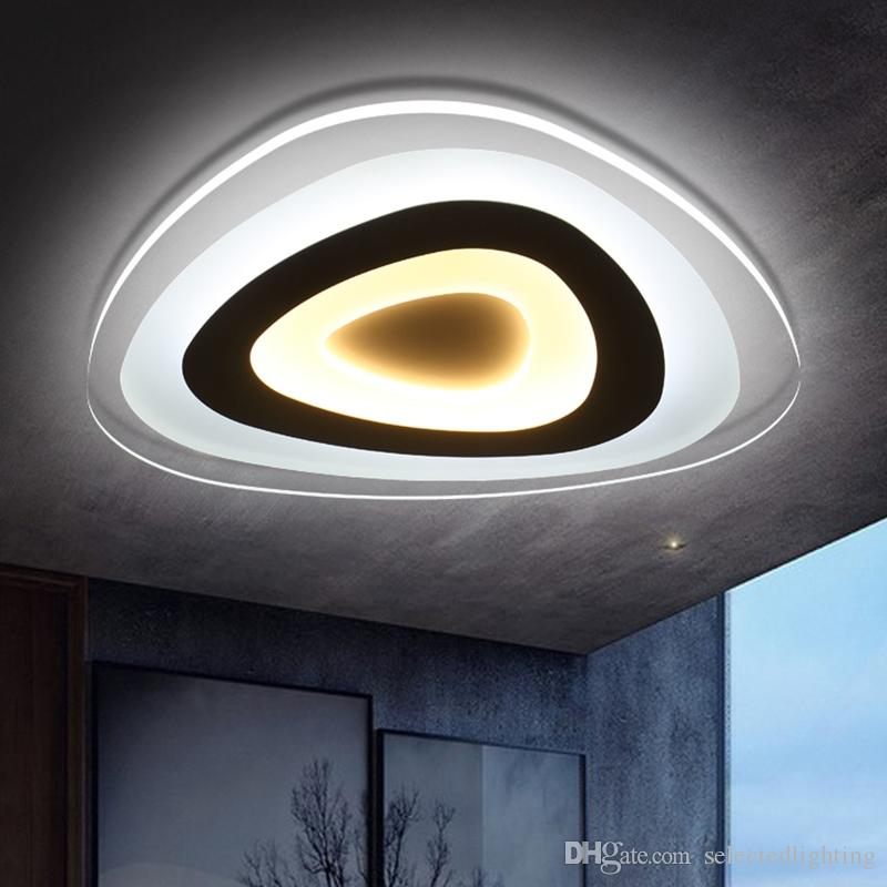 Ultra Thin Modern Ceiling Light Flush Mount Light Lamparas