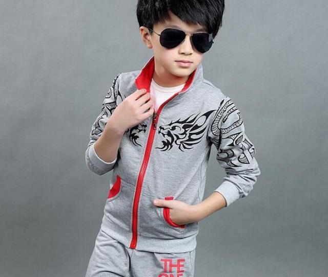 2019 Hot Sales Clothing Kids Set Clothing Boys School Uniform Teen Boy Clothing Sport Suit Toddler Boy Jacket With Pants Sport Black Boy Blue From Sym1588
