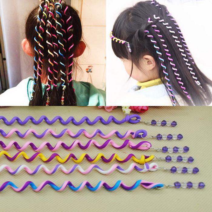 Headband Kids Girls Diy Hair Styling Braiding Spiral