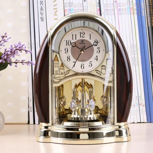 Best Wholesale Home Decor Desk Clock Modern Design Decorative Table     Best Wholesale Home Decor Desk Clock Modern Design Decorative Table Clocks  3d Clock Watch Vintage Needle Quartz European Style Power4208 Under  88 04