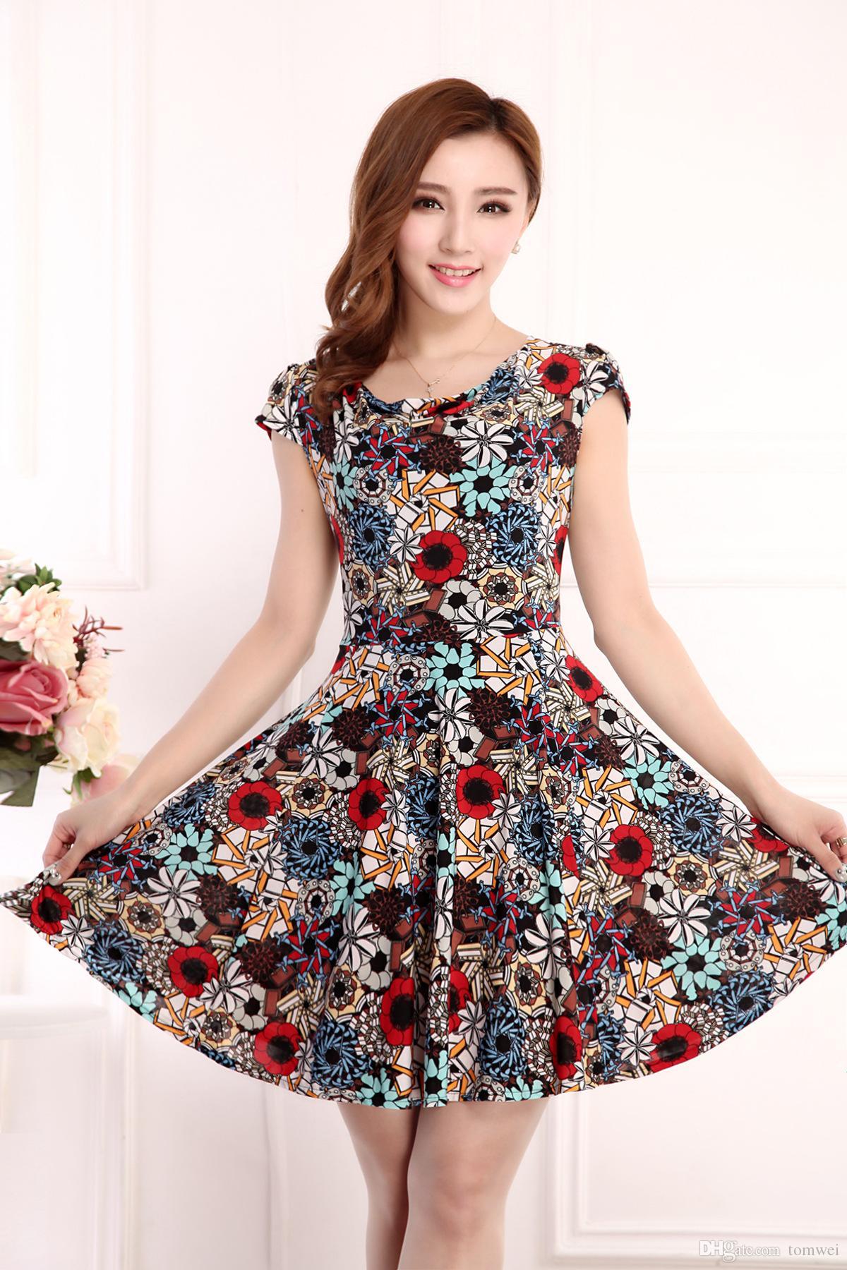 Maxi Dresses Women La S Summer Dresses Short Sleeve