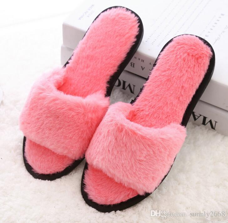 winter house slippers women fashion pantufa casual indoor home