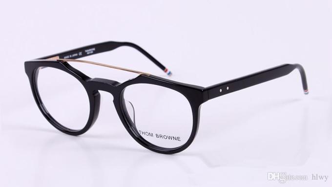 9954c71805f Hot Eyegl Frames 408 Men Women Tb Reading Optical Frame. Online Cheap Whole  Vintage Gold Oval Eyeglass ...