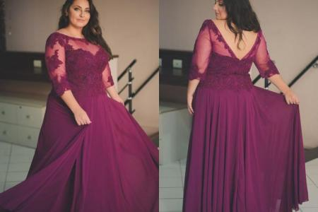 Plus Size Evening Gowns With Sleeves 4k Pictures 4k Pictures
