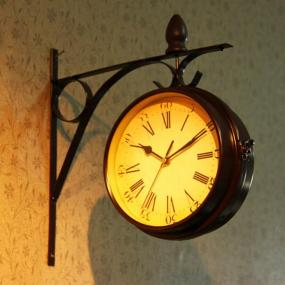 Image result for vintage hanging clock