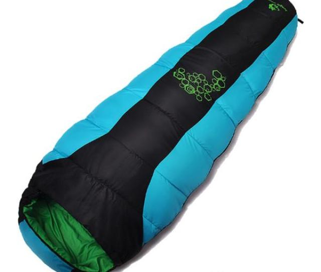 Mummy Sleeping Bag For Cold Weather Outdoor Equipment Sleeping Gear Hiking Backpacking Camping Sleeping Bags Travel Sleeping Bags Sleeping Bags Down From