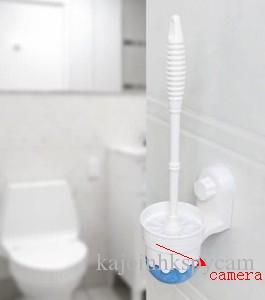 1080p spy toilet brush bathroom spy camera hidden mini camera 32gb