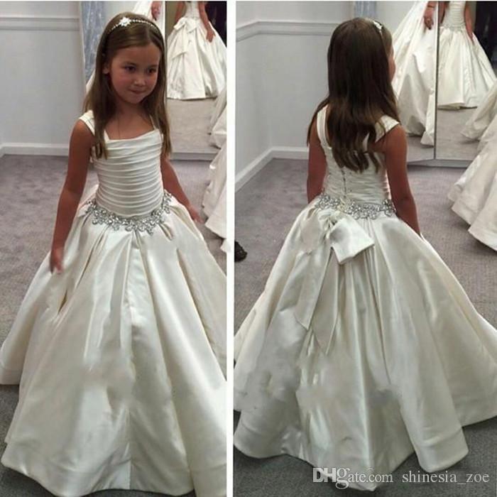 b86cbf3fec Pnina Tornai Lovely Flower Girl Dresses Square Neck First Communion