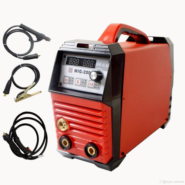 MIG 200A Inverter Welder Machine MIG MAG ARC LIFT TIG ARC Welding     MIG 200A Inverter Welder Machine MIG MAG ARC LIFT TIG ARC Welding Machine  Gas Gasless Flux Cored Wire Solid Core Wire Welder MIG 200A Inverter Welding