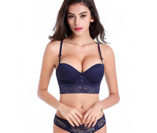 2019 Sexy Hot Luxury Lace 1 2 Cup Y Buckle Beauty Back Sexy Women Lingerie Push Up Bra Set 19860 From Ly_topfashion 23 64 Dhgate Com