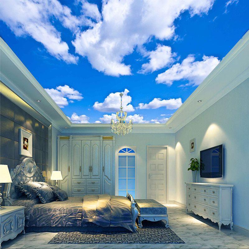 Blue Sky Wallpaper For Ceilings