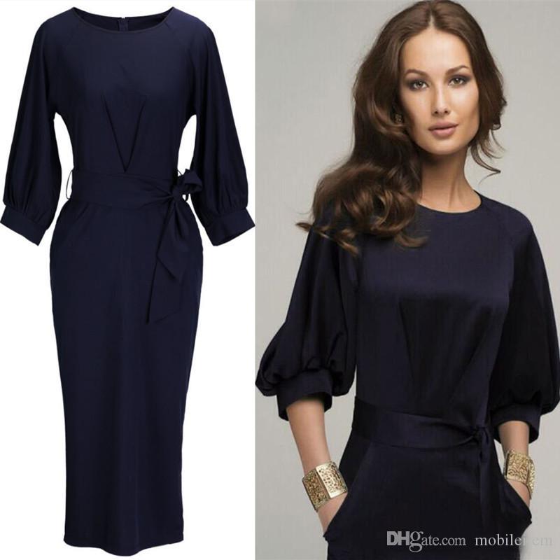 acheter vente dames bureau robes robe d affaires dames vetements de bureau robes de femmes en mousseline de soie melange robes de travail 870 de 9 13 du
