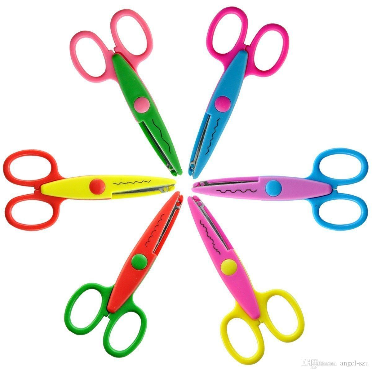 Baby Diy Manual Lace Scissors Kids Hot Love Children