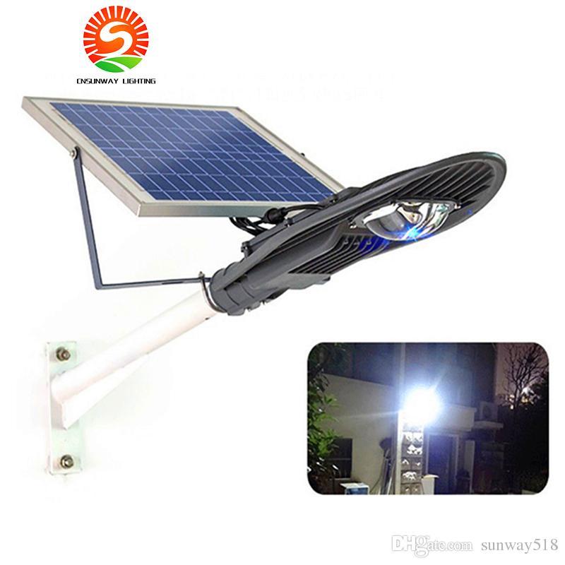 2018 High Power 20w 30w Solar Powered Led Street Lights