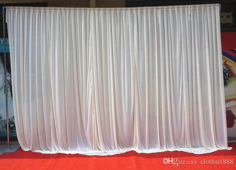 3m 3m white backdrop curtain party