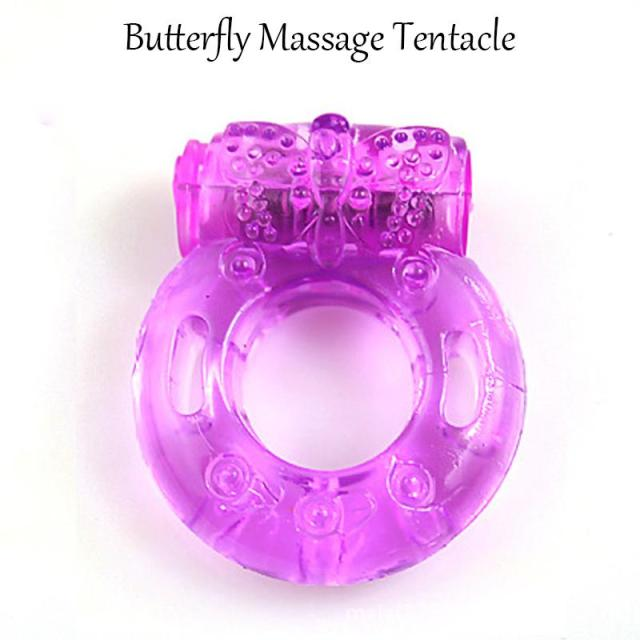 Wholesale Vibrating Cock Ring Silicone Penis Ring With Vibrator Stay Erection Ejaculation Lock For Men Sex Toy Big Peinas Big Peneas From Silien