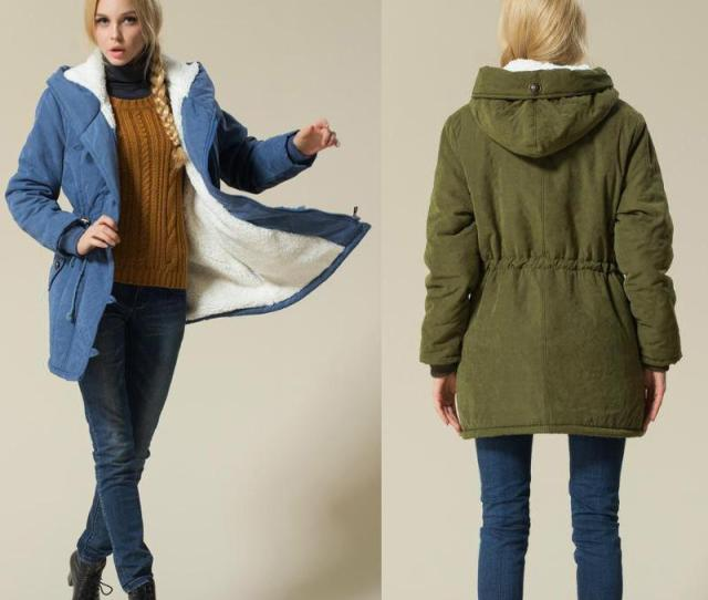 2019 Ladies Coats Jackets Army Green Winter Coat Women 2017 Female Cotton Hooded Jacket Padded Parka Casual Coat From Johnbob Dhgate Com