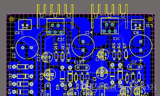 Tda Power Amplifier Schematic And Pcb Pa Tda