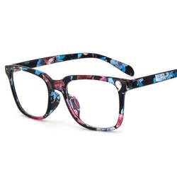 07c5686f149 2018 New Floral Style Glasses Frame Men Women Retro Vintage Optical