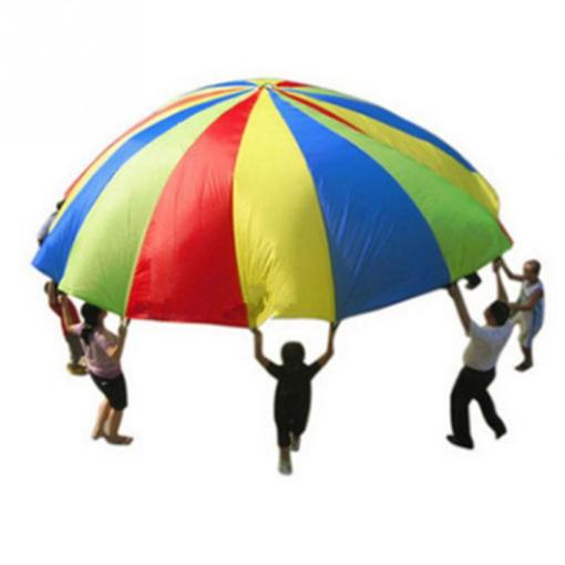 Rainbow Parachute Children S Games Kindergarten Parent Child     Rainbow Parachute Children S Games Kindergarten Parent Child Activities  Early Education Pull Parachute Sport Toys For Kids Children Toys From  Fashion09
