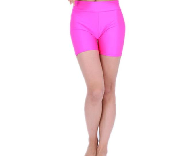 Womens High Waisted Sexy Lycra Rave Booty Dance Shorts Spandex Shiny Pole Dance Shorts For Stage From Flowter   Dhgate Com