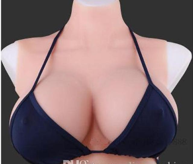 2018 Gift Silicone Boobs Fullbody Tight Suit Abcdef Tv Drag Queen Cup Breast Forms