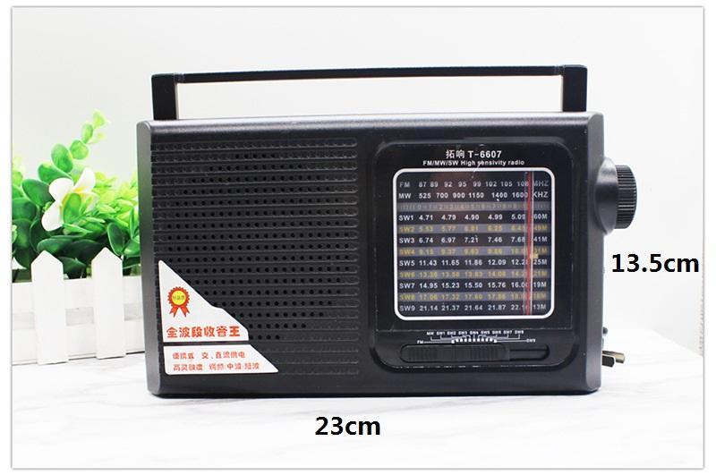 acheter recepteur radio de table de grande taille nouvelle 12 bandes fm am mw sw1 9 recepteur radio avec haut parleur integre cadeau pour vieux tres