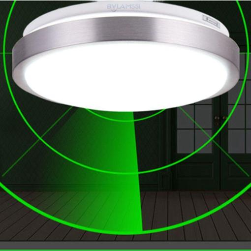 2018 Radar Motion Sensor Ceiling Lights White Round Led Light     2018 Radar Motion Sensor Ceiling Lights White Round Led Light Fixtures For  Kitchen Corridor Home Decor Modern Ceiling Lamp From Yuancao   26 96    Dhgate Com
