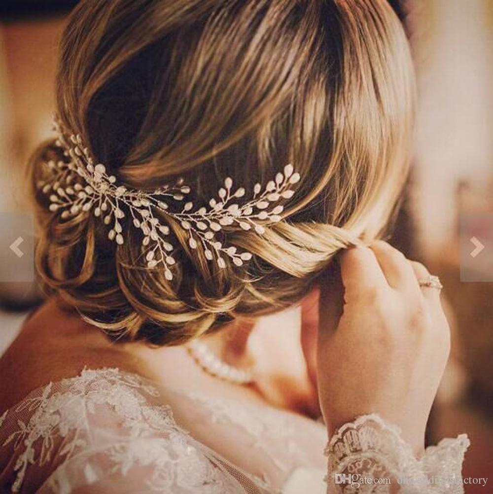 luxurious handmade pearl bridal hair combs hair accessories cheap bridal jewelry hair tiaras new bridal hairpieces wholesale combs bridal hair combs