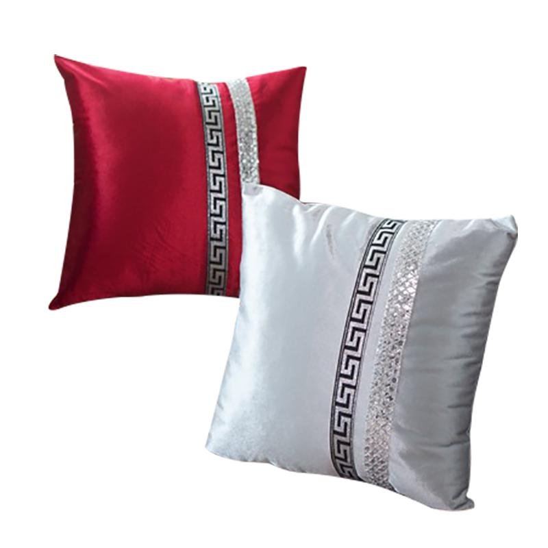acheter 1 piece de luxe taie d oreiller d or velours paillettes housses d oreiller pour literie chaise 45x45 cm de mariage cas 120g de 20 85 du bananain