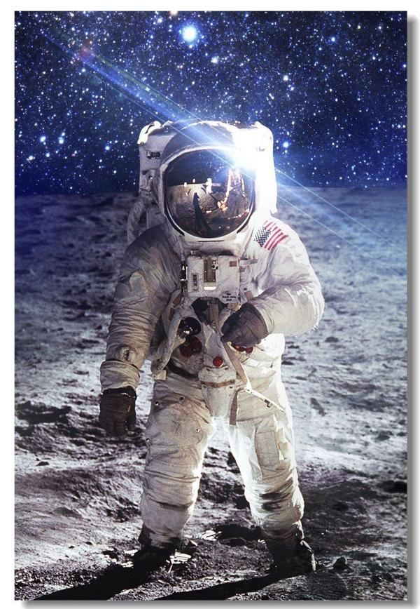 2019 Astronaut On The Moon Earth Planet A Men Drink Beer ...
