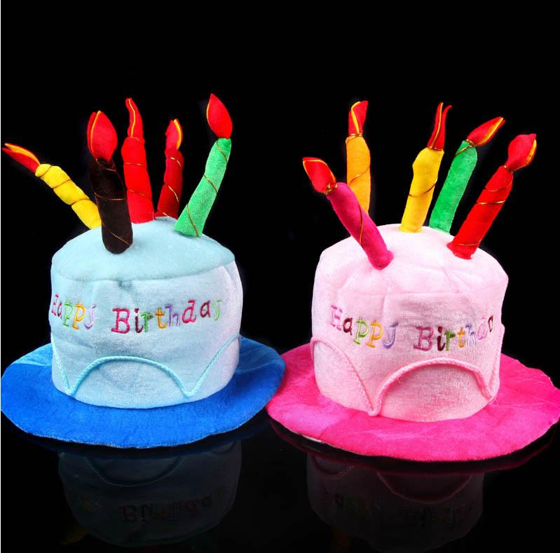 Men Women Happy Birthday Cake Candle Hat Adult Party Hat Birthday     Men Women Happy Birthday Cake Candle Hat Adult Party Hat Birthday Party  Christmas New Year Birthday Hats For Toddlers Birthday Hats Online From  Kenedy