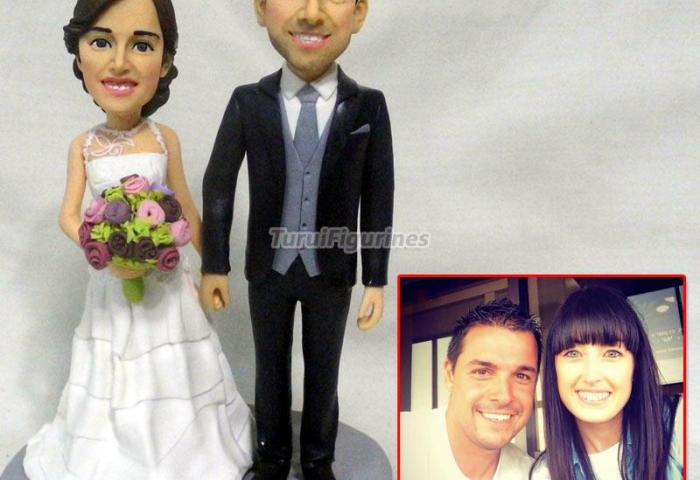 Wedding Cake Topper Custom Bobbleheads Cake Toppers Personalized Cat