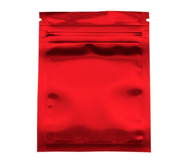 Cm Glossy Red Grip Seal Pack Bag Self Seal Mylar Food Storage Bags Reclosable Aluminum Foil Zip Lock Packaging Pouches Grip Seal Packing Bag Self Seal