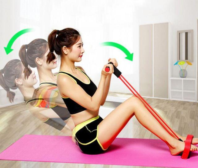 Tube Fitness Resistance String Elastic Rope Workout Equipment For Yoga Pilates Workout Latex Pipe Pull Rope Power Racks Weight Equipment From Hineinei