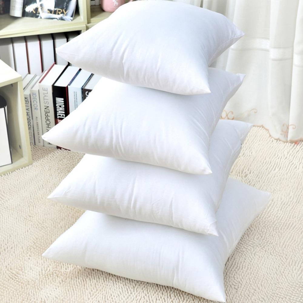 acheter coussin blanc de voiture souple canape chaise vers le bas de remplacement de noyau de coussin oreiller interieur coussin 35 70cm tissu gaufre de