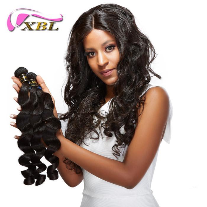 XBL Different Hair Style Virgin Human Hair Weave Peruvian