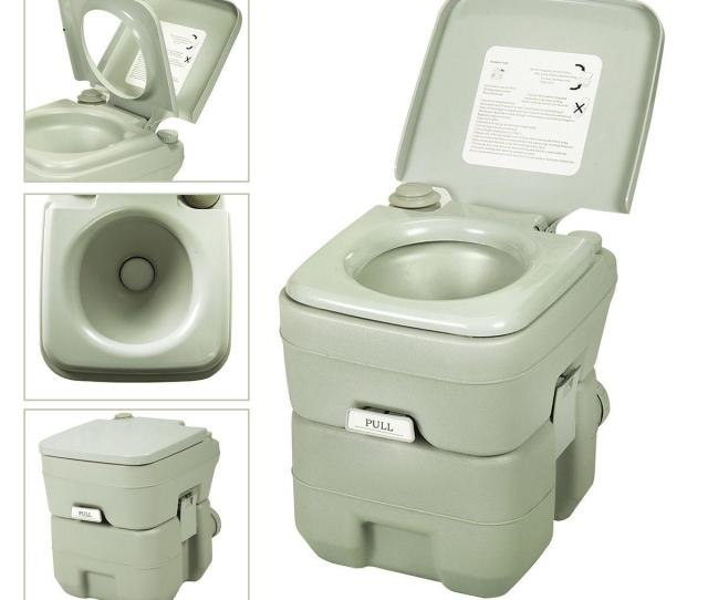 Flush Travel Camping Toilet Potty Outdoor Indoor L Portable Toilet From Huangning Dhgate Com