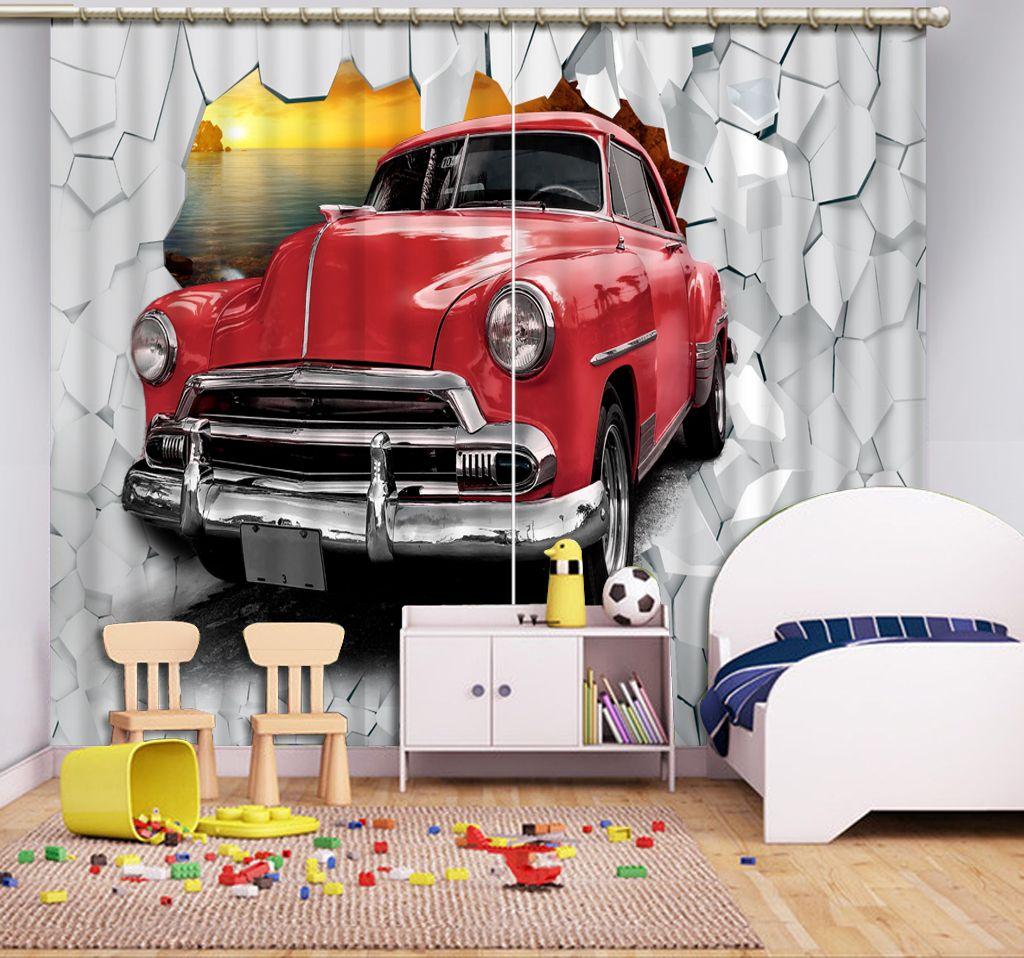 acheter personnaliser la voiture de mur rideaux occultants 3d rideaux pour chambre salon fenetre rideau photo de 77 63 du yiwu2017 fr dhgate com