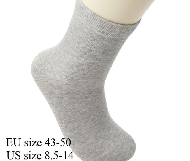 High Quality Fashion Mens Cotton Plus Size Socks For Mens Dress Sox Socken Meia Calcetines Black White   From Sweet Dhgate Com