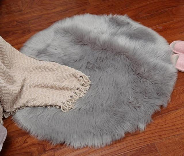 Artificial Carpet Soft Sheepskin Rug Skins Carpet Seat Pad Round Area Rugs Floor Mat Home Decorator Carpets For Kitchen Shaw Carpet Prices Shaw Berber