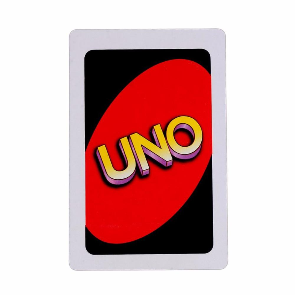 2018 Uno Card Game Poker Family Fun One Pack Of Pokers